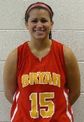Bethany McArthur led the Lady Lions in scoring with 15 points.