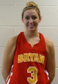 Jenna Ray had 14 points and 8 rebounds.
