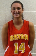 Morgan Burnette finished with 13 points and 15 rebounds.