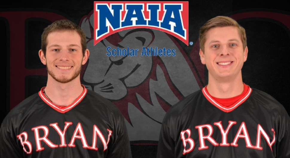 Photo for Marklund and Cain Earn Scholar-Athlete Honors