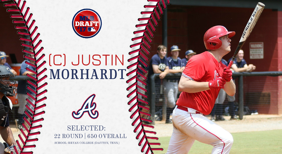 Photo for From Bryan to the Atlanta Braves, Morhardt Drafted In 22nd Round