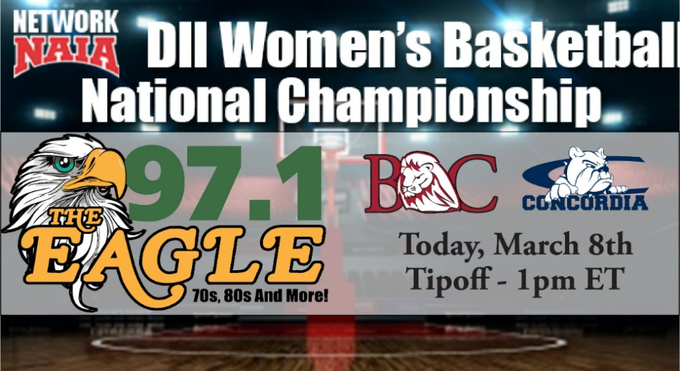 Photo for Follow Women's Basketball Today At Nationals (1pm ET), Listen Live On The Eagle