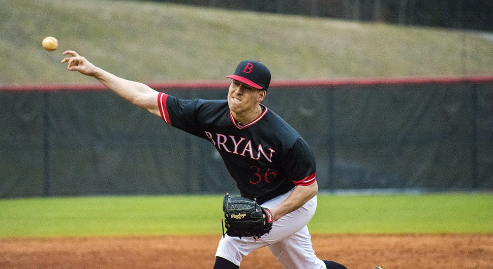 Baseball Shuts Down Toccoa Falls Early Bryan College