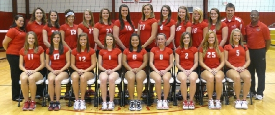 2010 Volleyball Team Photo